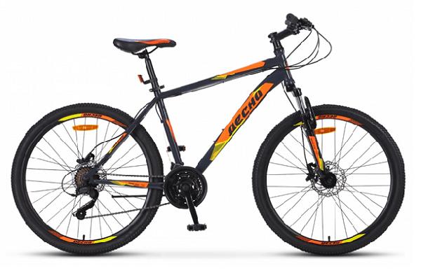 """Десна 2610 D 26"""" V010 - модификации 2019 года. Стандартные 26-дюймовые колеса. Дисковые гидравлические тормоза. Недорогой. Надёжный. Практичный велосипед."""