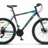 Десна 2710 D 27.5 V020 (2019) - горный велосипед начального уровня с мужской рамой. Особенности велосипеда - дисковые гидравлические тормоза, амортизационная вилка, 24 скорости и 27,5-дюймовые колеса.