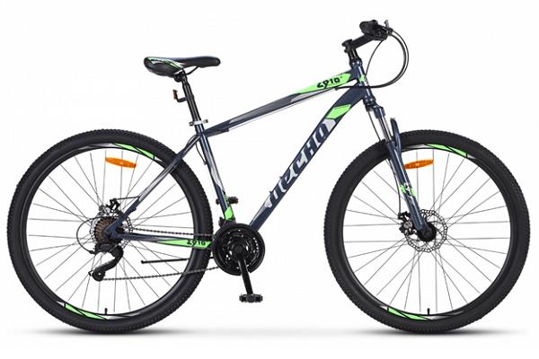 Десна 2910 MD 29 V010 - горный велосипед начального уровня в минималистичном дизайне.