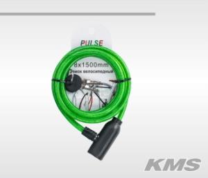 Велозамок «Pulse», с ключом.