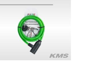 Велозамок «Pulse», трос диам. 10×1500мм,