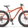 Aggressor MD 26 V010 (2019) Фэтбайк для взрослых с алюминиевой рамой и широкими колесами 26 дюймов. Байк 2019-го модельного года. Основные преимущества велосипеда – дисковые механические тормоза, жесткая вилка и 8-скоростная трансмиссия.