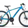 Navigator 560 MD 26 V010 Горный велосипед начального уровня с мужской алюминиевой рамой и колесами размером 26 дюймов. Байк 2018-го модельного года. Основные преимущества велосипеда – дисковые механические тормоза, трансмиссионное оборудование MICROSHIFT, амортизационная вилка с ходом 60 мм.