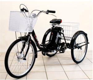 Электровелосипед трехколесный Иж-Байк Фермер (черный)