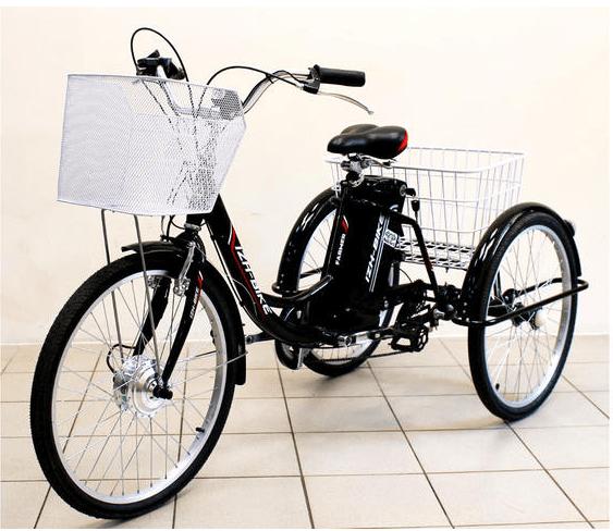Электровелосипед трехколесный Иж-Байк Фермер синий
