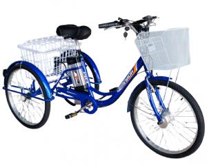 Электровелосипед трехколесный РВЗ Чемпион